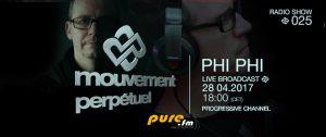 Mouvement Perpétuel #025 on Pure.fm Radio