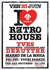 I Love Retro House @ Premium