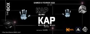 Kap ou pas Kap @ The Box 08/02/2020