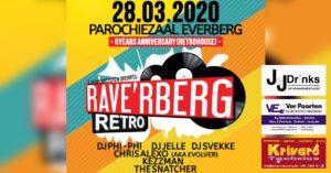 RAVE'RBERG Retro @ Parochiezaal Everberg