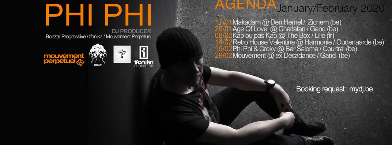 phi phi ban agenda jan fev 2020