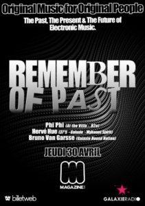 Remember of Past @ Magazine Club