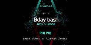 Phi Phi @ Amy&Denis Bday Bash @ Kings Club