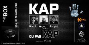 Soirée Kap ou pas Kap @ The Box 18/04/2020